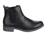 Divaz Kelly Womens Pull On Chelsea Boot