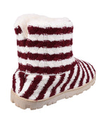 Divaz Latvia Womens Warm Lined Bootee Slipper
