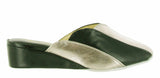 Cincasa Madeira Womens Wedge Heeled Mule Slipper