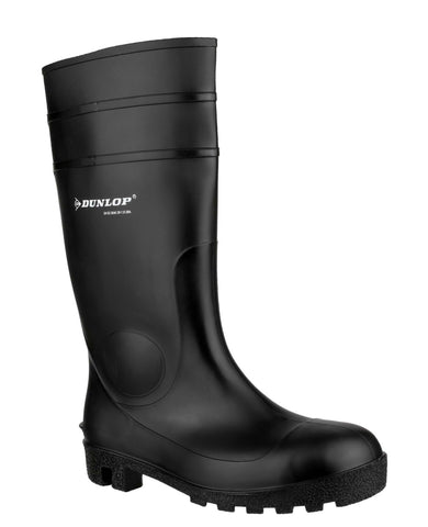 Dunlop Protomastor Full Safety Wellington Black