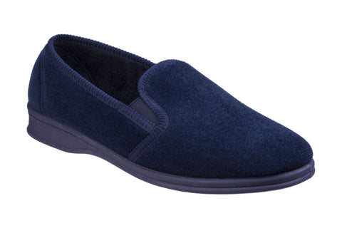 Mirak Shepton Mens Full Slipper Navy
