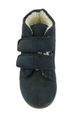 GBS Torbay Womens Extra Wide Warm Lined Touch Fastening Slipper Bootee