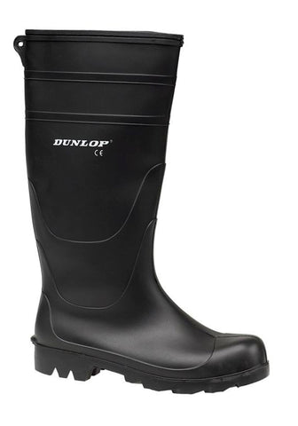Dunlop Universal Mens PVC Wellington Black