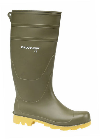 Dunlop Universal Mens PVC Wellington Green