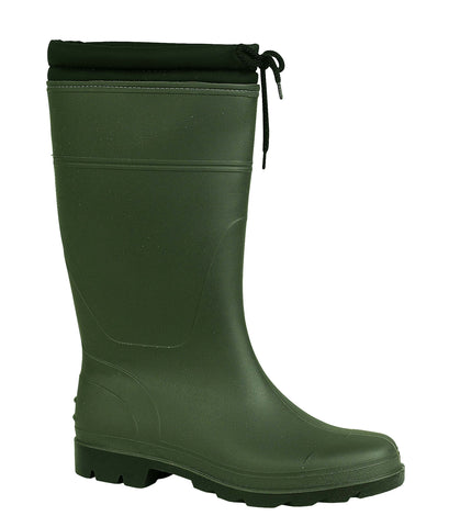 Mirak Vapour Womens Warm Lined PVC Wellington Green