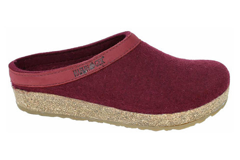 Haflinger Grizzly Torben 713001 Womens Clog Slipper