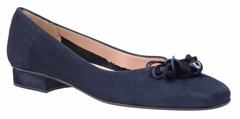 HB Jest Womens Bow and Toggle Trim Dress Pump Navy S