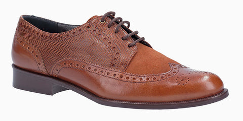 HB Kelly 6129 Womens Lace Up Brogue Shoe