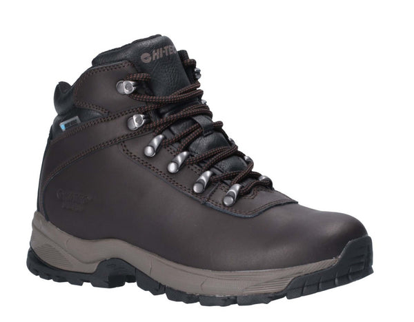 Hi-Tec Eurotrek Lite Waterproof Womens Walking Boots Dark Chocolate