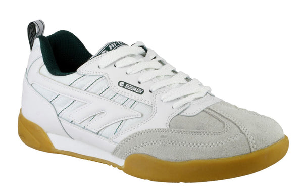 Hi-Tec Squash Womens Lace Up Trainer White