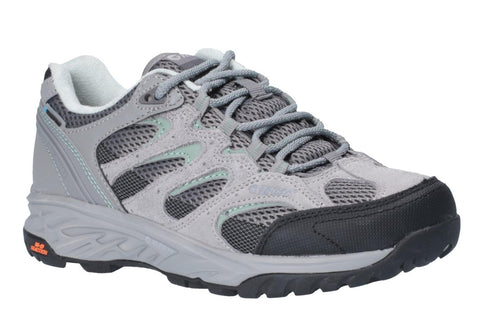 Hi-Tec Wild-Fire Low I Waterproof Womens Walking Shoes Cool Grey/Graphite/Iceberg