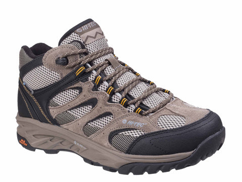 Hi-Tec Wild-Fire Mid I Waterproof Walking Boots Taupe/Dune/Core Gold