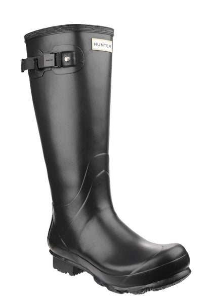 Hunter Norris Field Mens Wellington Boot Black