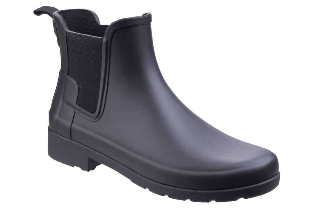 Gmten9waprm1ym True to size, regular fit with the addition of being slightly fitted around the foot. https www robineltshoes co uk products hunter original refined chelsea boot womens ankle wellington