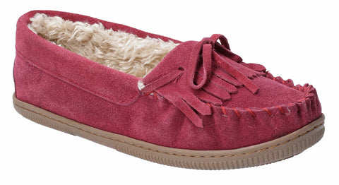 Hush Puppies Addy Slip On Slipper Burgundy