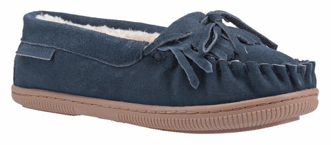 Hush Puppies Addy Slip On Slipper Navy