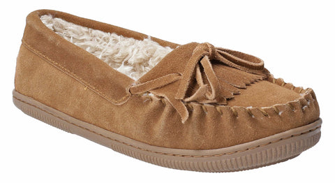 Hush Puppies Addy Slip On Slipper Tan