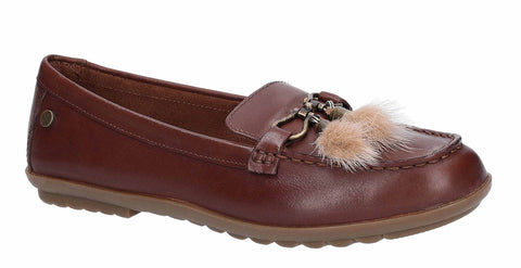Hush Puppies Aidi Puff Loafer Brown