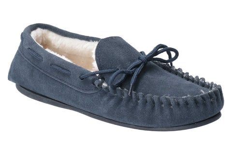 Hush Puppies Allie Slip On Slipper Navy
