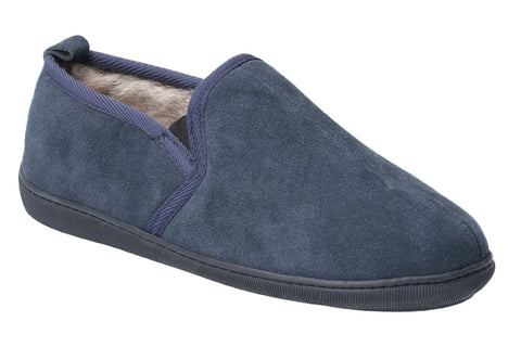 Hush Puppies Arnold Slip On Slipper Navy