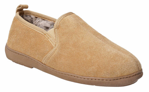 Hush Puppies Arnold Slip On Slipper Tan