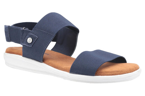 Hush Puppies Ashley Touch Fastening Strap Sandal Navy