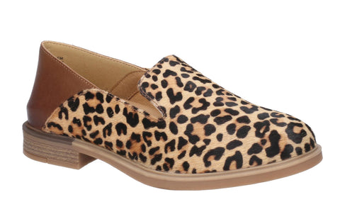 Hush Puppies Bailey Bounce Slip On Shoe Leopard Calf Hair
