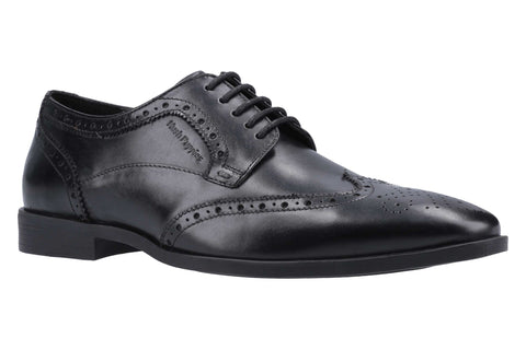 Hush Puppies Brace Brogue Lace Up Shoe Black