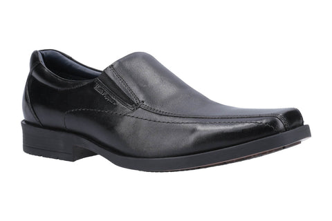 Hush Puppies Brody Slip On Shoe Black