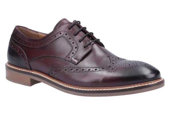 Hush Puppies Bryson Mens Brogue Derby Shoes