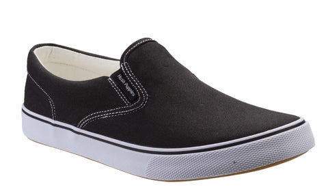 Hush Puppies Byanca Slip On Womens Canvas Casual Shoe