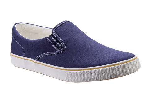 Hush Puppies Chandler Slip On Mens Canvas Casual Shoe