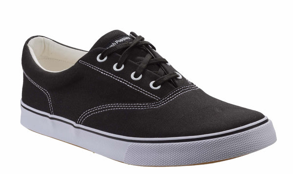 Hush Puppies Chandler Sneaker Mens Canvas Lace Up Casual Shoe