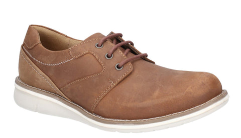 Hush Puppies Chase Casual Lace Up Shoe Tan/Brown