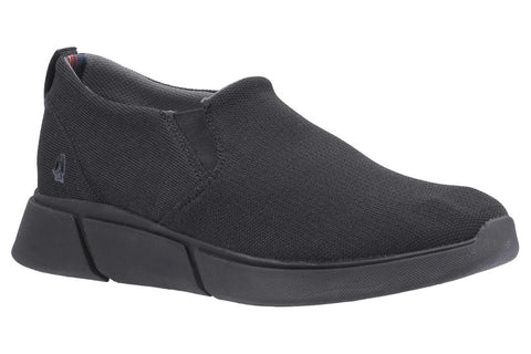 Hush Puppies Cooper Slip On Shoe Black
