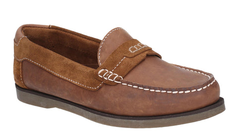 Hush Puppies Finn Slip On Shoe Tan
