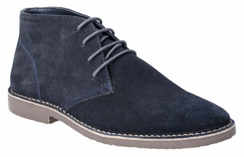 Hush Puppies Freddie Lace Up Shoe Navy