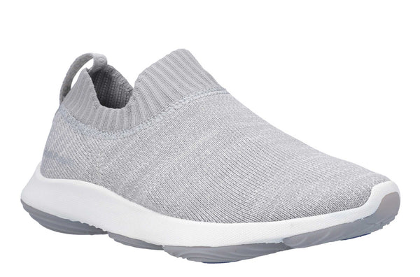 Hush Puppies Free BounceMAX Slip On Trainer Cool grey