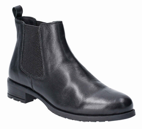Hush Puppies Gigi Slip On Chelsea Boot Black