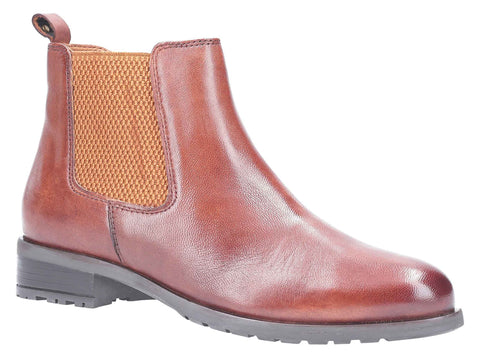 Hush Puppies Gigi Slip On Chelsea Boot Tan