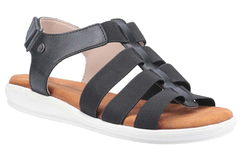 Hush Puppies Hailey Gladiator Sandal Black