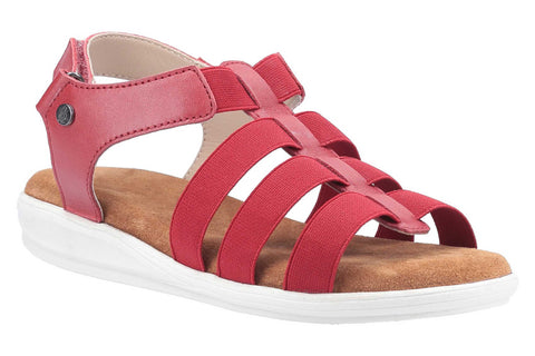 Hush Puppies Hailey Gladiator Sandal Red