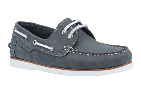 Hush Puppies Hattie Lace Up Boat Shoe Navy