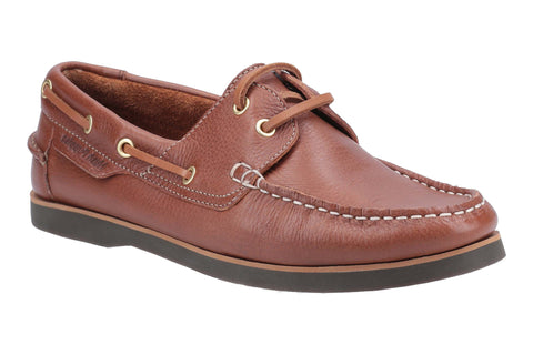 Hush Puppies Hattie Womens Lace Up Boat Shoe