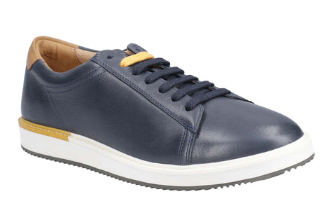Hush Puppies Heath BouncePLUS Lace Up Shoe Navy Leather