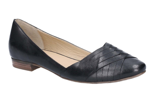 Hush Puppies Marley Womens Leather Slip On Ballet Pump