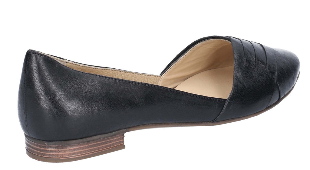 6ab39aa2b0a8 Hush Puppies Marley Womens Leather Slip On Ballet Pump