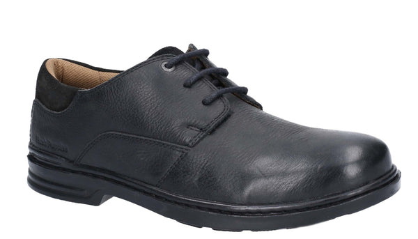 Hush Puppies Max Hanston Classic Lace Up Dress Shoe Black