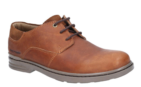 Hush Puppies Max Hanston Classic Lace Up Dress Shoe Brown