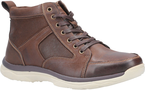 Hush Puppies Newton Lace Up Shoe Brown